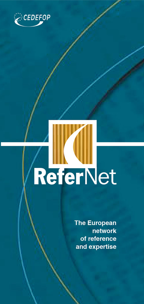 "Cedefop Brochures<br/><span class=""subtitulos"">European Union Agency</span>"